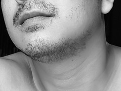 You can't grow a beard if you shave - Bob Blue (Gilbert Rondilla) Tags: camera shirtless portrait people bw white selfportrait man black male guy me monochrome face up closeup self neck myself beard point asian photo nikon shoot close faces body philippines shave gilbert filipino duotone facialhair mustache ako digicam notmycamera chin frontdoor hombre own pinoy razor homme physique stubble borrowedcamera pns homen rondilla notmyowncamera gilbertrondilla gilbertrondillaphotography luisianian ikawaypinoy gettyimagesphilippinesq1 frontdoorphotography