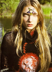 Devil worship IN (Elouvie) Tags: magazine french frenchvogue