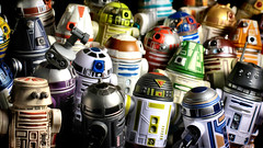 Packed in like sardines (olo) Tags: walter toys robot starwars lego robots explore actionfigures r2d2 m8 minifig droid tincan hasbro astromech week34 plastic52 m8droid theweeklyadventuresofwalter stillnotwalle