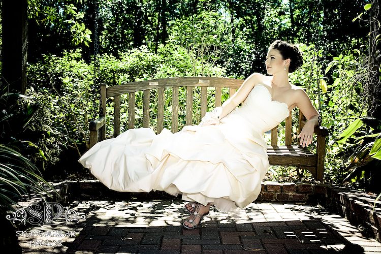lauren's bridal session at mercer arboretum, houston, texas