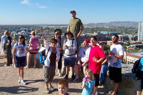 "Hiking ""A"" Mountain in Tempe"