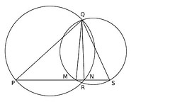 Dos perpendiculares distintas