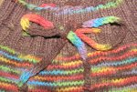 Choco Rainbow Longies - Semi Custom Knit Slot