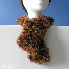 Pumpkin neck cuff