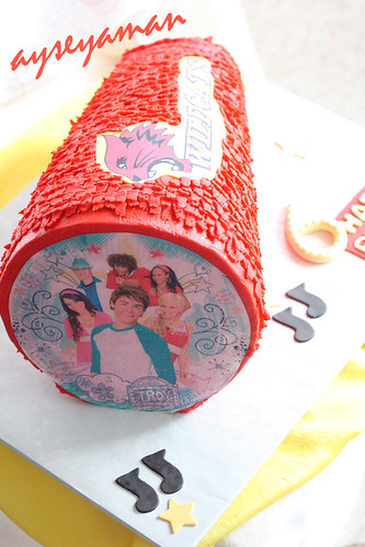 High School Musical Pinata Cake