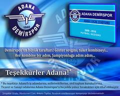 Adana Demirspor Kombine Kampanya