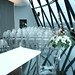 Louis Ghost Chair, TopTop Rectangular Table - Ghost Furniture Hire - Jewish Wedding - Gherkin, London