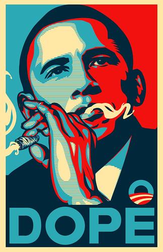 Obama DOPE poster