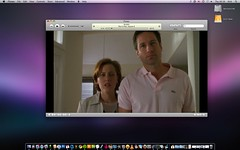 Sure Do Love The X-Files (kirky29) Tags: desktop apple drive dock mac icons itunes os x leopard mulder finder scully external xfiles the 1057