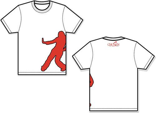 Chosen Dance Girls White-Red T-Shirt Front-Back.jpg