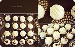 Oreo Truffles (isayx3) Tags: food white 35mm nikon triptych cookie candy chocolate mint goods snack f2 treat 365 oreo nikkor d3 truffles kraft baked plainjoe isayx3