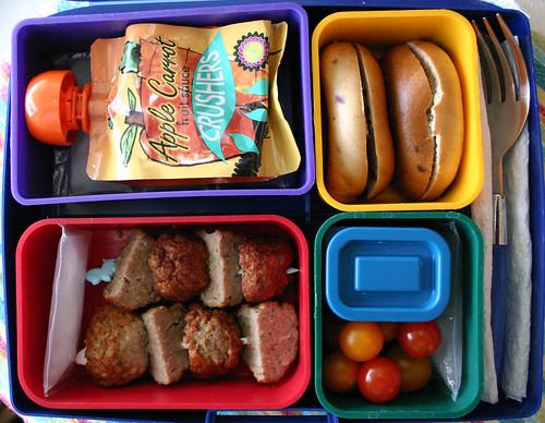 Kindergarten Bento #231: September 8, 2009