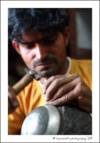 Bidri, an exquisite art in making