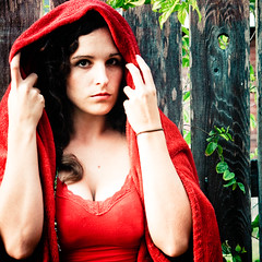 Hey there Little Red Riding Hood, (j o o b o o s) Tags: red song 15 explore littleredridinghood frontpage samtheshamandthepharaohs 30songsin30days