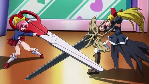 Needless fight between Mio and Seto
