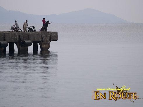 Virac Port Fishing Scene