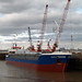 """Monica"" at New Holland Dock"