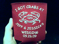 0925092121.jpg (dogseat) Tags: cameraphone wedding crabs hold shwag coozie phonecamseat