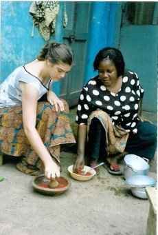 Preparing Nkatenkwan