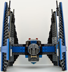 6206 tie fighter straight top (Big Cam crsx) Tags: starwars lego 6206