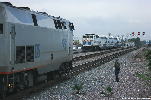 Train Master Bruce at Fullerton