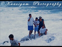 Cheerful Family ( Kaaviyam Photography) Tags: ocean california family blue sea people music usa man art nature water pose photography rocks force artistic smiles surreal m splash society roar visualpoetry pleasure rapture randomvisions lordbyron deepsea intothewild lajollacoves lonelyshore pathlesswoods intrudes kaaviyam kaaviyamphotography