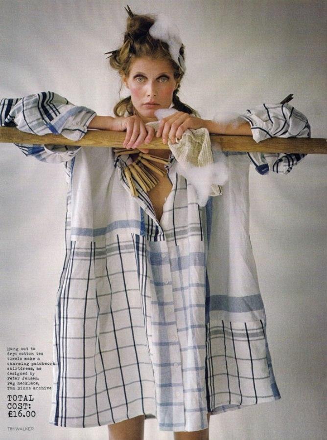 Make Do & Mend Malgosia Bela by Tim Walker for Vogue UK 2