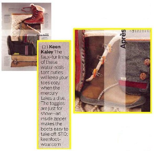 outside mag 2010 winter buyer's guide - kaley boot