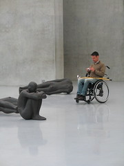 antony gormley installation (Jan Olof Nygren) Tags: gcmk