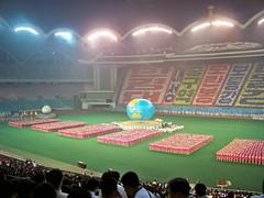 Mass Games Finale Pyongyang North Korea (Ray Cunningham) Tags: tourism del stadium propaganda north may first games korea tourist american mass norte pyongyang corea dprk arirang koryo 平壤 北朝鮮 корея 평양 조선민주주의인민공화국 릉라도 阿里朗 raycunningham 5월1일경기장 rungrado zaruka raymondkcunninghamjr ©raymondkcunninghamjr northkoreanphotography raycunninghamnorthkoreanphotography dprkphotography