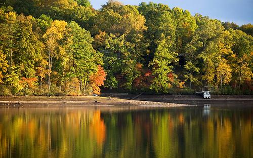 Berkley Lake Reflection