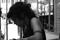 rolling (maruan's travel [a bit away.. vEEEry busy]) Tags: bw tattoo lisboa lisbon pb dreadlock rolling rastas leonor enrolando sabemosqueéummauhabitomas weknowthatisabadhabitbut