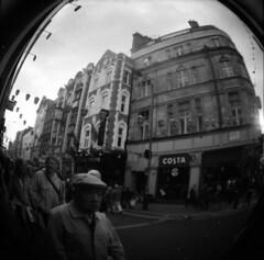 (Emma Swann) Tags: london fisheye diana fujineopan400