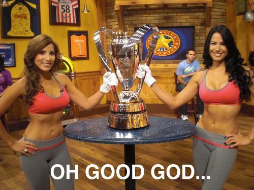 Senadoras and cup