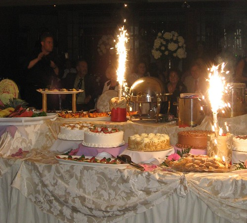 Venetian Dessert Table Guest post from Cake Gumshoe Megan