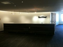 First day in the new Twitter office (the ryan king) Tags: twitter twitterhq twoffice
