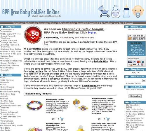 BPA Free Baby Bottles Online
