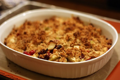 Cran-Apple Crisp (Tuesdays with Dorie)