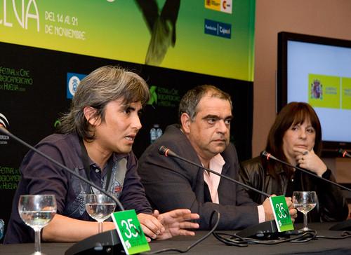 Hector Gálvez en Huelva