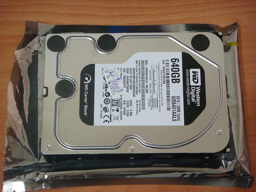 WD AALS 640GB HDD