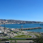 Valparaíso: Vista a la Bahía desde el Mirador Baron