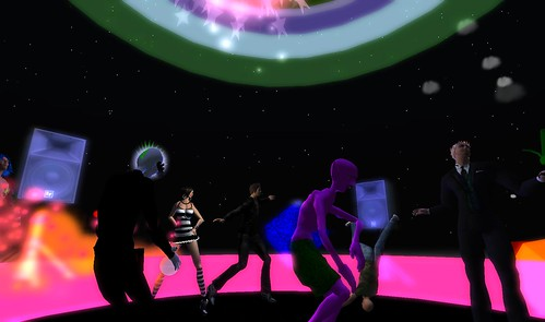 mr widget, alienspeaking at muzik haus