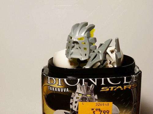 7135 - Bionicle Stars - Takanuva - in can