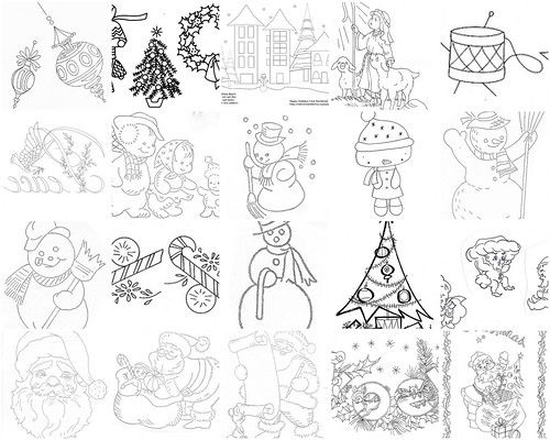 Holiday Embroidery Patterns Part 1