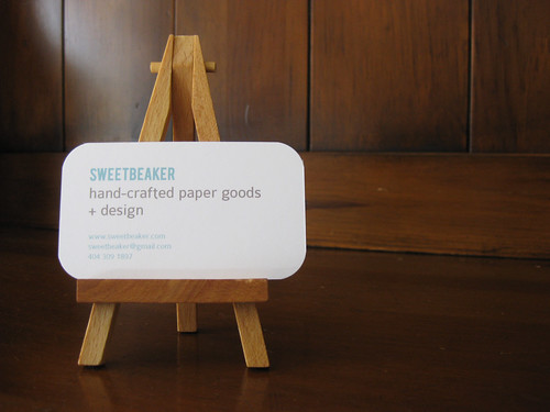 New SweetBeaker Business Card