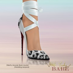 Stiletto Moody Bare Lauren - Wedding Leopard (Stiletto Moody) Tags: red lauren feet beautiful leather shoe high ribbons shoes toe bare sm charm tattoos sl chain pump rings barefoot hip sole straps anklet patent impossibly moodys badseed stilettomoody footinshoe stilettomoodybarelaurenweddingleopard