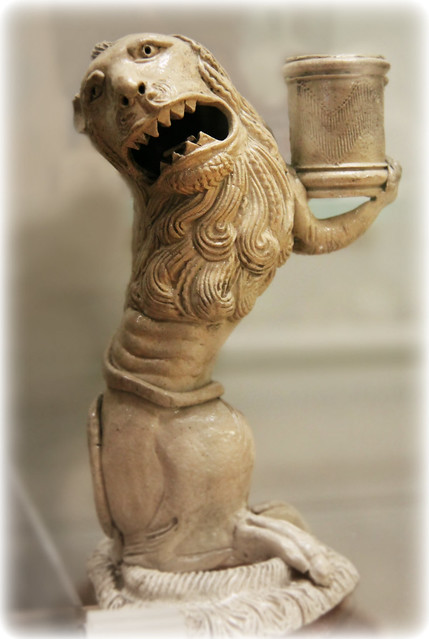 Lion - candle holder