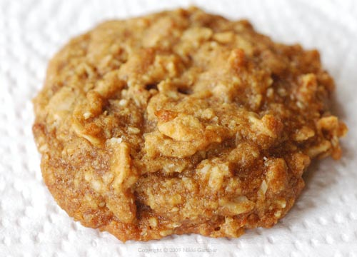 Roasted Almond Cookies with Fleur de Sel