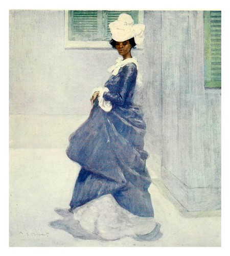 020-Una señora de Martinica-The West Indies 1905- Ilustrations Archibald Stevenson Forrest