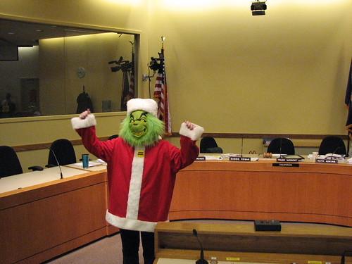 Grinch Portland School Board